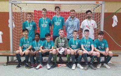 C-Jugend JSG Kannenbäckerland/Hilgert ist Hallenkreismeister 2019/2020
